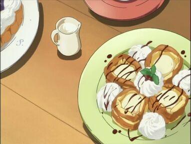 K-on food ep11 desserts 1