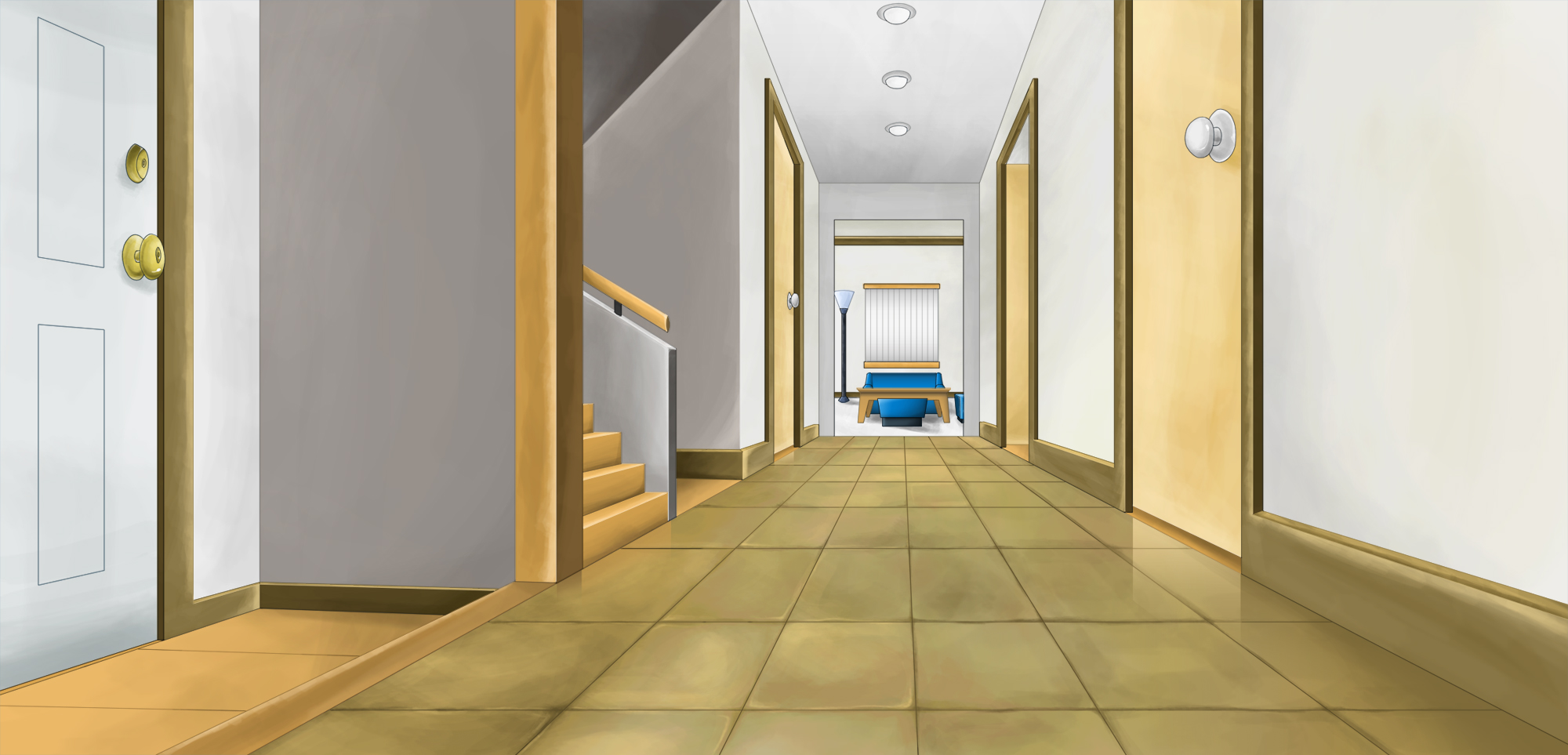 antina kuca Hallway1
