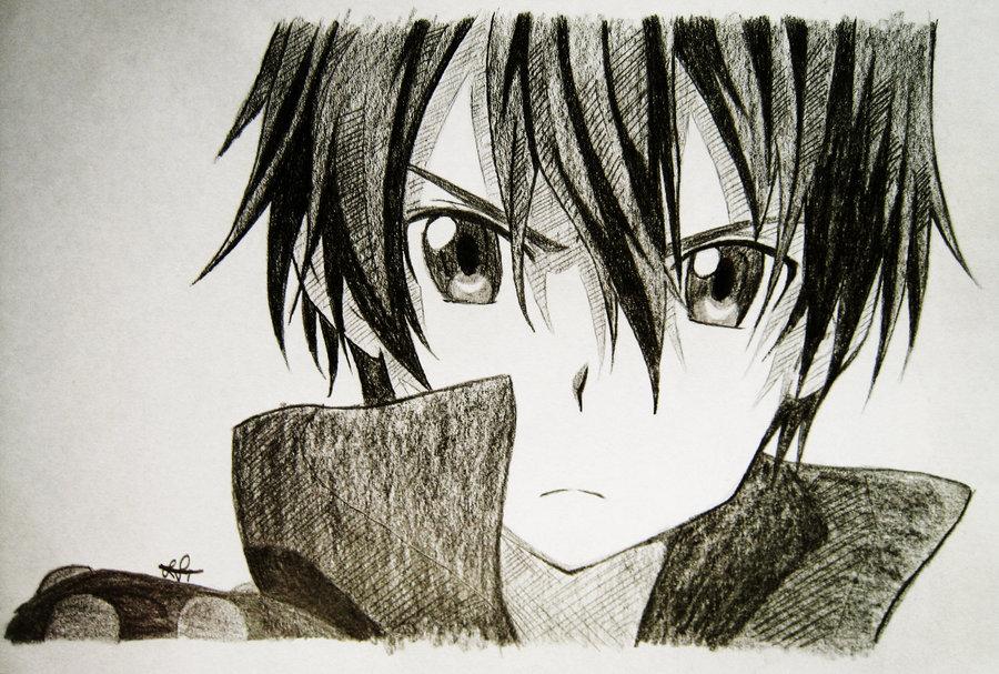 Kirito drawing jpg