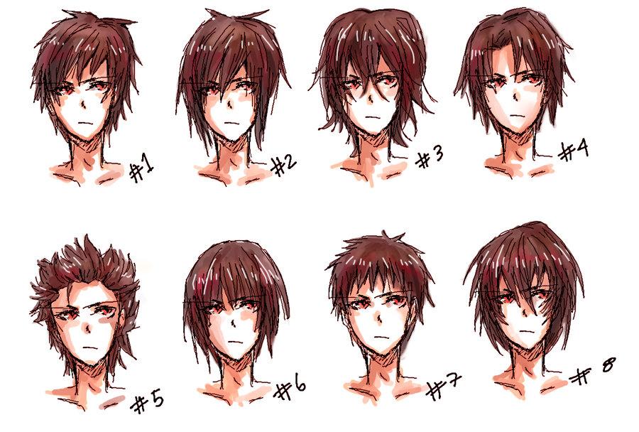 Image Anime Hair Style Ii By Nyuhatter D3kos72 Jpg Anime Arts