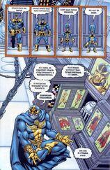 Создал множество клонов. Одни из них были неудачными, а другие по словам Таноса превосходиле в могуществе даже его самого 2