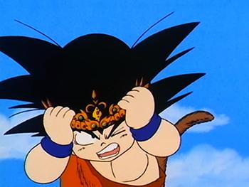 Gokuwearingcrown