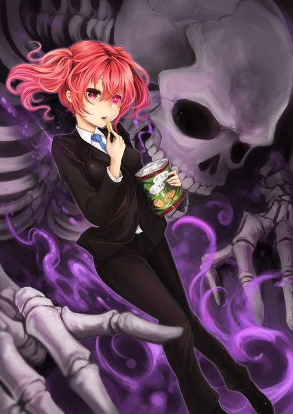 Anime Fight Characters 0 1 : Изображение inu boku ss lisya sekretnaya sluzhba
