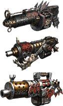 Space Marine Game - Ork Shootas