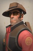 Merch Sniper Portrait
