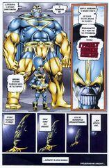 Создал множество клонов. Одни из них были неудачными, а другие по словам Таноса превосходиле в могуществе даже его самого 3