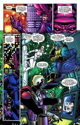 Телепатия Таноса и Галана и Титан сопротивляется 4