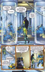 Создал множество клонов. Одни из них были неудачными, а другие по словам Таноса превосходиле в могуществе даже его самого 6