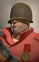 Merch Soldier Portrait