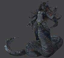 Skyrim-The-Elder-Scrolls-фэндомы-naga-5309373