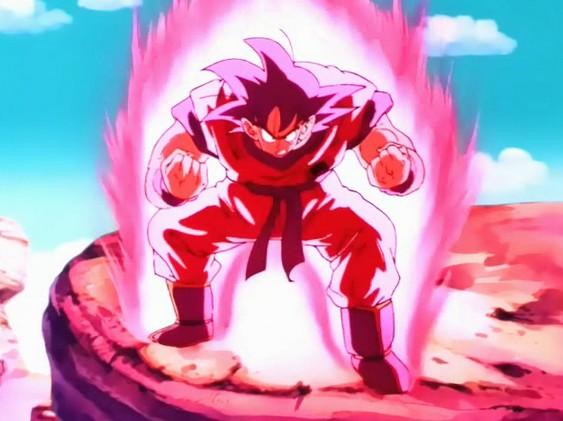 Goku kaioken3