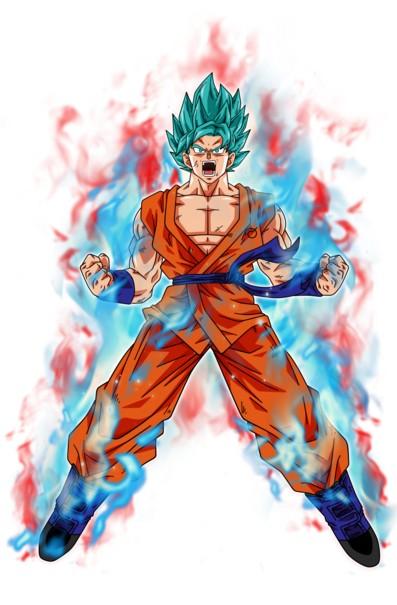 Goku ssbkk10 art