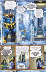 Создал множество клонов. Одни из них были неудачными, а другие по словам Таноса превосходиле в могуществе даже его самого 5