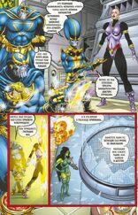 Создал множество клонов. Одни из них были неудачными, а другие по словам Таноса превосходиле в могуществе даже его самого 4