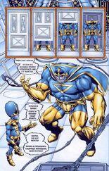 Создал множество клонов. Одни из них были неудачными, а другие по словам Таноса превосходиле в могуществе даже его самого 1