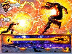 Бластом отправил в далекий полет Галактуса и уничтожил его шлем 2