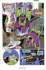 Танос кастует камень времени и демонстрирует отправку прошлое