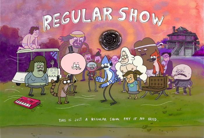 RegularShowLogo