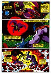 Энергия Таноса и Дракса уничтожило планету