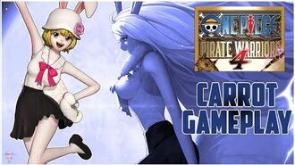 One Piece Pirate Warriors 4 Carrot Gameplay Moveset TGS Demo OPPW4 Carrot Showcase HD