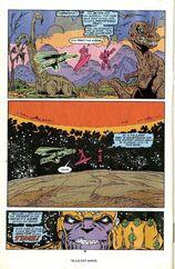 Танос кастует камень времени и демонстрирует отправку прошлое 2