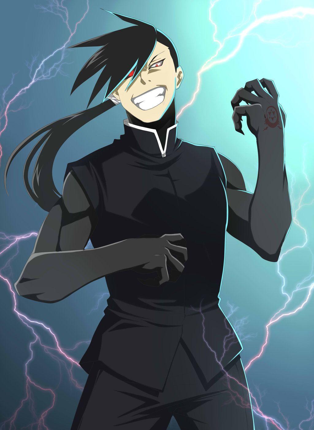 Greed   Anime Cinematic Universe Wiki   Fandom