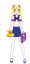 Fuyumi Yoake (Summer Uniform)