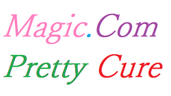 Magic.Com Pretty Cure logo