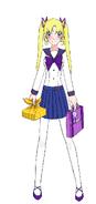Fuyumi Yoake (Winter Uniform)