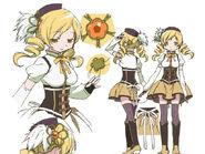 Mami Tomoe Anime Design