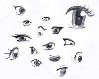 Manga-Augen