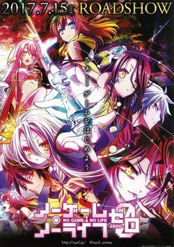 Japanische Poster No Game No Life Zero