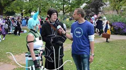 "Animanga Wiki - Connichi 2017 - Cosplay - ""Sword Art Online"" - ""Berserk "" - ""Dunkelelfe"""