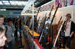 Waffen Leipziger Buchmesse 2015