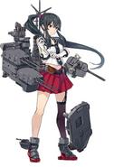 Kancolle Light Cruiser Yahagi