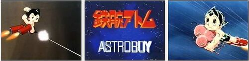 Osamu Tezukas Astroboy als Anime