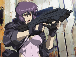 Motoko Ghost in the Shell