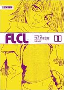 FLCL Light Novel Cover