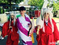 Inu Yasha Cosplay Group