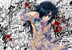 Watamote tomoko kuroki by nick ian-d6i7ouu