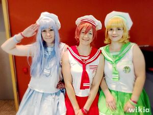 Magic Knight Rayearth Cosplay