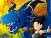 Shu und blue dragon