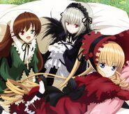 Rozen Maiden Gothic Lolitas