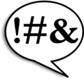 Sprechblase Diskussionen