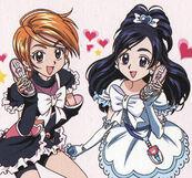 Nagisa und Honoka
