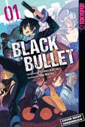 Black Bullet Manga Cover 01