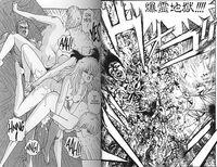 Beispiele für Sex und Gewalt in Mangas