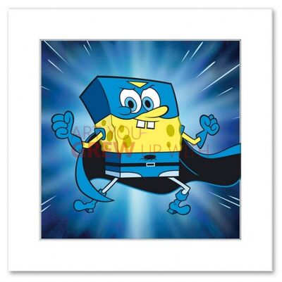 Superhero Spongebob