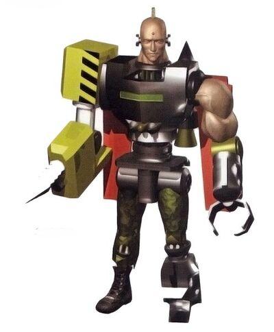 Prototype-Jack Bots -Tekken 1-