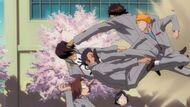 Ichigo & Chad meet Keigo & Mizuiro